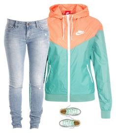 """""""Untitled #724"""" by prettygirlnunu ❤ liked on Polyvore featuring NIKE, Lee, women's clothing, women's fashion, women, female, woman, misses and juniors"""