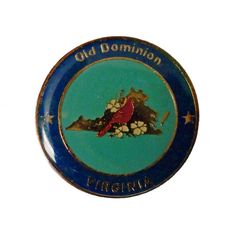 """OLD DOMINION Virginia State vintage enamel pin lapel cloisonne bird by VintageTrafficUSA  11.00 USD  A vintage Virginia pin! Excellent condition. Measures: approx 1"""" -------------------------------------------- SECOND ITEM SHIPS FREE IN USA!!! LOW SHIPPING OUTSIDE USA!! VISIT MY STORE FOR MORE ITEMS!!! http://ift.tt/1PTGYrG FOLLOW ME ON FACEBOOK FOR SALE CODES AND UPDATES! http://ift.tt/1P57awb OR FOLLOW ME ON TWITTER! https://twitter.com/VinTrafficUSA THANK YOU! VIN and ZOE"""