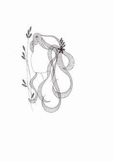 Podvinek 037 Scrap Quilt Patterns, Lacemaking, Lace Heart, Lace Jewelry, Bobbin Lace, String Art, Boss Lady, Lace Detail, Machine Embroidery