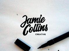 Lettering & Logotype Vol.1 on Behance