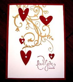 Baroque Motifs w Valentines and embossing   # Pinterest++ for iPad #