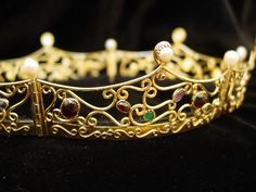 scrollwork baronial coronet by DarkRidge Jewels:  If i ever become a Baroness... I would love this one...
