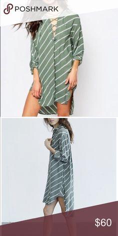 82cb5eea8cf6 Faithfull walker shirt dress Brand new with tags Faithfull the Brand  Dresses High Low