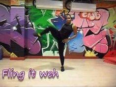 Latonya Style / First Class Dancers/ kreator wielu kroków dancehall, nauczyciel tańca i choreograf. To niektóre z jej Stylish Moves.