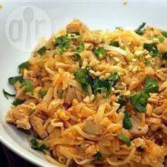 Rezeptbild: Pad Thai (Gebratene Nudeln auf thailändische Art)