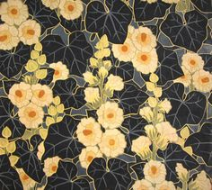 Textile design by Scheurer, Lauth & Cie, produced in 1899.  [indigodreams:via  The Textile Blog]