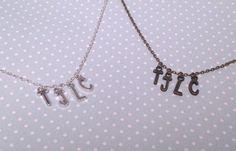 TJLC necklace by otterlydesign on Etsy, $20.00