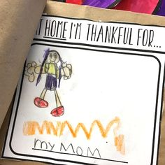 Thankful Turkey writing booklet and art project