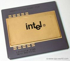 Intel Pentium Pro. I have yet to run across this chip in years of computing.