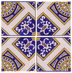 Galleries - A1-Portuguese tiles - 167-Salvador 4 tile
