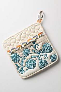 Far too pretty to be a pot holder  Anthroplogie