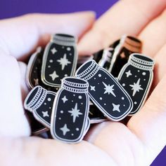 These little bottles of magic because now you CAN catch a star and put it on your pocket. | 27 Fantasy Pins For People Who Are Obsessed With Magic