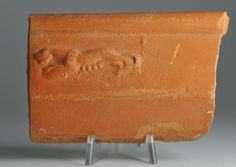 African red slip ware sherd with tiger 15