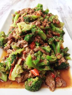 Healthified Crock Pot Beef & Broccoli — The Skinny Fork