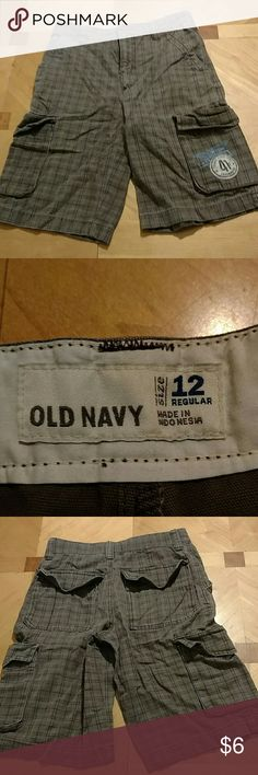 Old Navy shorts Old Navy shorts. Boys size 12 adjustable waist. Excellent condition. Smoke free home. Old Navy Bottoms Shorts