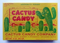 vintage candy packaging by jeannie