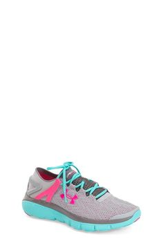 Under Armour 'SpeedForm® Fortis' Athletic Shoe (Big Kid) available at #Nordstrom