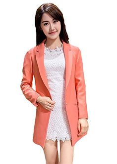My Wonderful World Women's One Button Slim Casual Lady Blazer Suit Small Orange My Wonderful World Blazer Coat Jacket http://www.amazon.com/dp/B018QPRK58/ref=cm_sw_r_pi_dp_08bxwb0462JVH