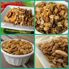 The Granola Chronicles: Granola!    Make your own granola (different varieties)