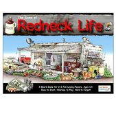 Step into the world of redneck life with The Game of Redneck Life where a roll of 2 dice determines the grade you complete in school, which sets you up for one of 11 fabulous careers, such as Mullet Salon Operator or Monster Truck Announcer! Journey through Blue Collar Americana using credit to buy vehicles, get married, purchase a home, get divorced, remarried, and raise a passel of young uns. Through accidents and brawls, players lose teeth during the game. Buy some back if you can, as the…