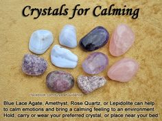Which one of these Calming Crystals is your favorite?