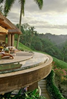 Viceroy #Bali: Luxe all-villa resort in Ubud with a jungle backdrop and thatch-roofed villas with private infinity pools