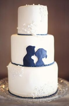Add a cameo to the cake? So cute.