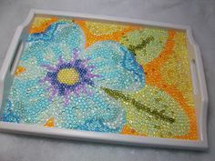 I have oodles of Dew Drops -- this would be a fun project to use them on.