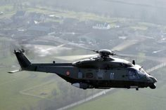 Belgium's first NH90 helicopter.