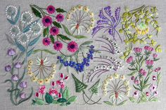 Art nouveau kit – French Needlework Kits, Cross Stitch, Embroidery, Sophie Digard – The French Needle