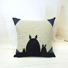 Totoro Printed Cushion Covers