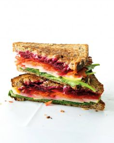 Goat Cheese and Vegetable Sandwich Recipe