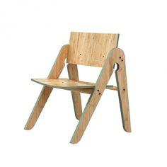 Lilly's Stuhl - Grün Dänisches Label 'We Do Wood'