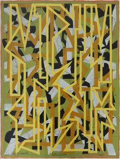 Edwin Mieczkowski, Yellow Crane, c. 1980