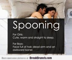 Boys vs Girls Meme-Spooning