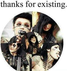 Thank you for existing. Thank you for giving us hope and inspiration to be ourselves.
