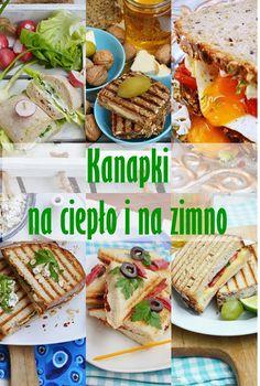 Moja smaczna kuchnia: Kanapki na ciepło i na zimno Polish Recipes, Ciabatta, Clean Eating, Lunch Box, Food And Drink, Healthy Recipes, Snacks, Meals, Dishes
