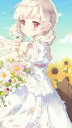 Nothing Better Than Anime Girl In White Dress