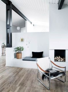 Detached house with soul - ALT.dk - Diy And Home Scandinavian Style Home, Design Your Own Home, Rich Home, Living Spaces, Living Room, Home Hacks, House Rooms, Detached House, Interior Architecture