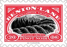 Benton Lane Pinot Noir - an acclaimed wine from the Willamette Valley of Oregon.  I first had it at Circle Bistro in DC; it's widely available.