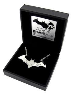 Celebrate Batman's 75th Anniversary With A Limited Edition Necklace