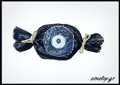 Wedding favours with blue eye for luck! Wedding Favours, Favors, Cufflinks, Eyes, My Favorite Things, Blue, Accessories, Products, Presents
