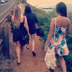 #LetTheSeaSetYouFree winners cruising down to Waimea Bay for the Eddie Aikau Opening Ceremony