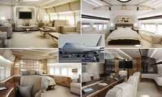 The custom-built Boeing 747 would cost its ultra-wealthy owner £400million after it was customised to fit his specifications exactly over a three-year period.