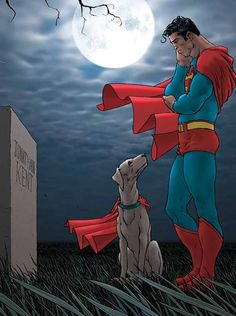 Superman and Krypto by Frank Quitely