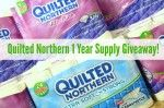 Giveaway: 1 Year Supply Quilted Northern Bath Tissue!