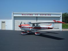 Cessna where most dreams of flight become reality. Cessna 150, Cessna Aircraft, Civil Aviation, Helicopters, Airplanes, Hobbies, Fishing, Dreams, Cars