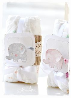 Baby gift items made with DooHickeyBOX13 Baby album Baby diaper gift wrap Baby Birth Card Bab...