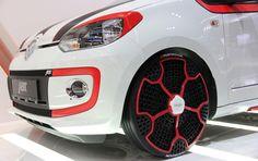 Hankook's i-Flex 'twheels' bid farewell to flat tires   Crave - CNET
