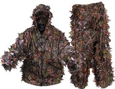 Hunting- KamoLeaf 3D Leafy Ghillie Suit By Camo Basics (ML) *** Want to know more, click on the image.
